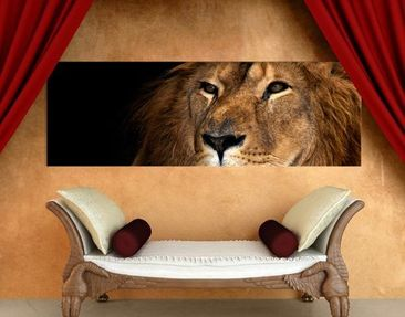 Product picture Canvas Art no.623 Lion's Expression...
