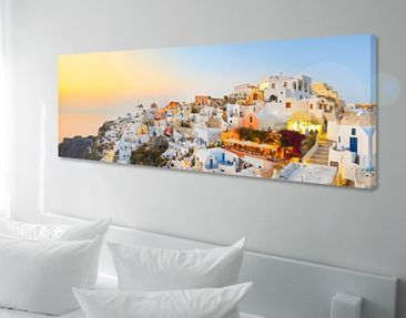 Produktfoto Canvas Art no.662 Bright Santorini...