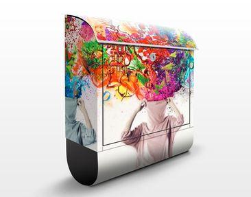 Immagine del prodotto Cassetta postale Brain Explosions 39x46x13cm