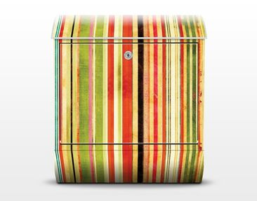 Product picture Design Letter Box Streaky III 39x46x13cm