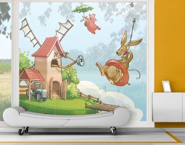 Immagine del prodotto XXL Pellicola per vetri - Flying Farm...