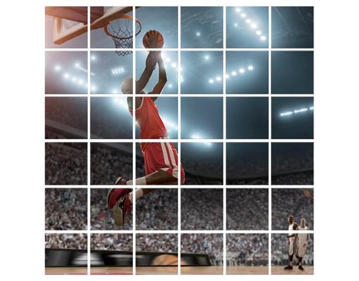 Produktfoto Fliesenbild Dunking