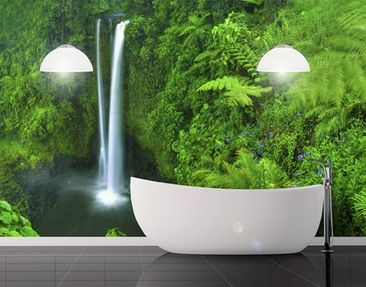 Produktfoto Photo Wall Mural Waterfall Paradise