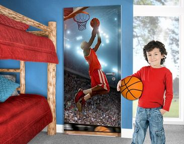 Produktfoto Door Photo Wall Mural Dunking