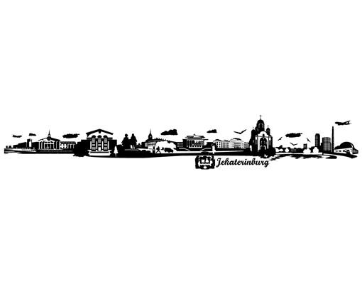 Produktfoto Wandtattoo Skyline No.JR157 Jekaterinburg Skyline