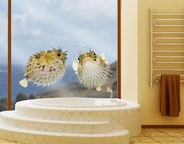 Produktfoto Window Sticker no.604 Blowfish Set