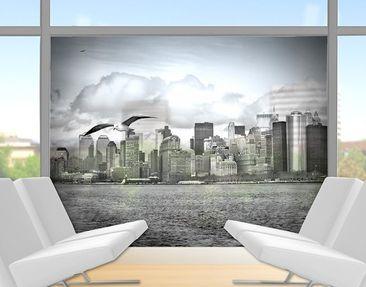 Produktfoto Fensterfolie - Sichtschutz Fenster No.YK1 New York II - Fensterbilder
