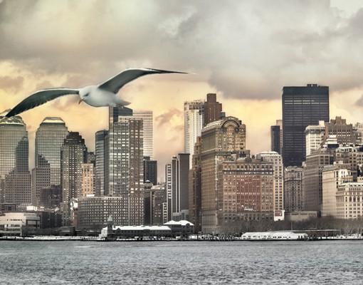 Produktfoto Leinwandbild Kreis No.YK1 New York