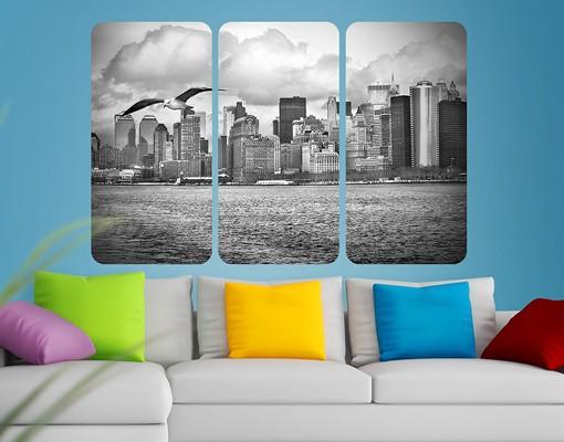 Produktfoto Selbstklebendes Wandbild No.YK1 New York II Triptychon I