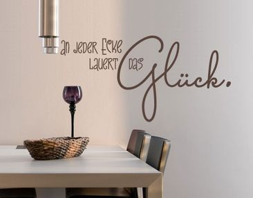 Product picture Wall Decal no.UL987 The Luck
