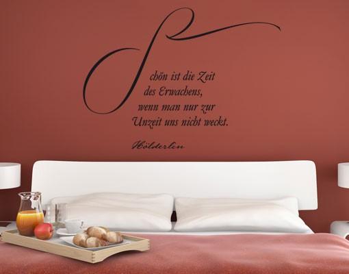 Produktfoto Wandtattoo Zitate - Wandzitate No.UL988 Erwachen