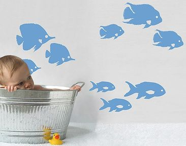 Produktfoto Wall Decal no.RY26 Shoal Of Fish