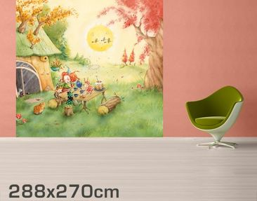 Product picture Photo Wall Mural Frida Has Breakfast