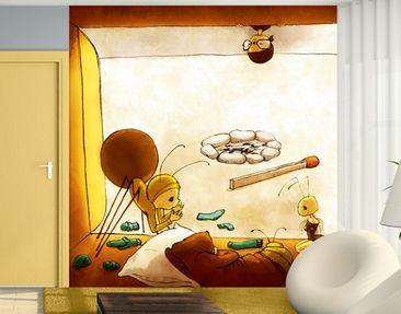 Produktfoto Kindertapete selbstklebend - Aufwachen, Tausendfüßler Olli