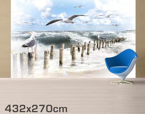 Produktfoto Meer Fototapete selbstklebend - No.YK3 Absolut Sylt