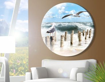 Product picture Canvas Art Circle no.YK3 Absolutely Sylt
