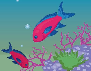 Product picture Wall Mural no.RY25 Underwater World
