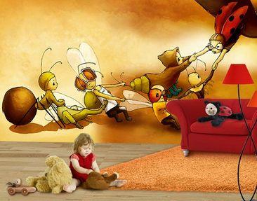 Produktfoto Photo Wall Mural Ladybeetle Kurt In...