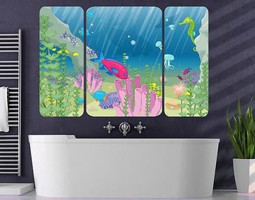 Produktfoto Wall Mural no.RY25 Underwater World...