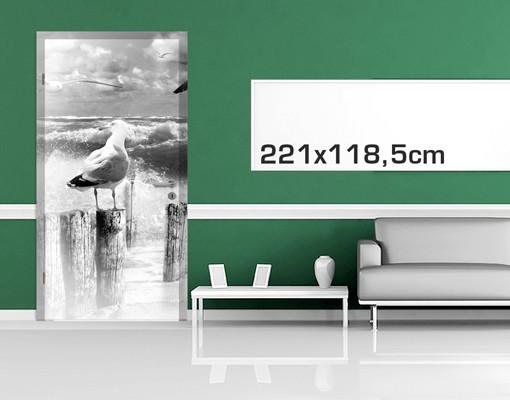 Produktfoto Türtapete Meer - No.YK3 Absolut Sylt II - selbstklebend