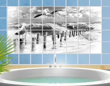 Product picture Tile Mural No.YK3 absolute Sylt II