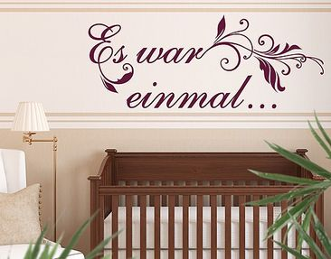 Product picture Wall Decal no.RY31 Once Upon A Time
