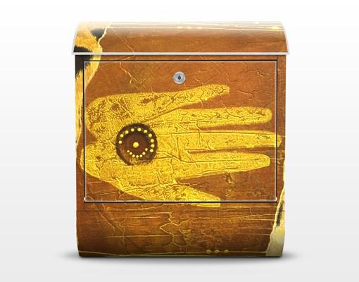 Produktfoto Design Briefkasten African Feelings 39x46x13cm