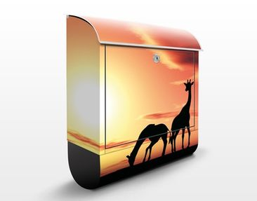 Product picture Design Letter Box African Life...