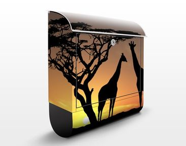 Produktfoto Design Letter Box African Sunset...
