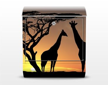 Product picture Design Letter Box African Sunset...