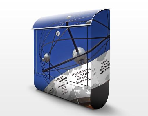 Produktfoto Briefkasten mit Zeitungsfach - Berlin Alexanderplatz - Wandbriefkasten
