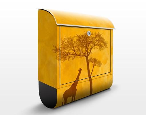 Produktfoto Briefkasten mit Zeitungsfach - Amazing Kenya - Hausbriefkasten