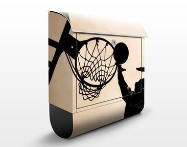 Produktfoto Design Letter Box Basketball 39x46x13cm