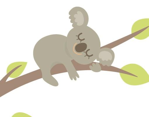 Produktfoto Wandtattoo Sprüche - Wandtattoo Namen No.EV108 Wunschtext Süßes Koalabärchen