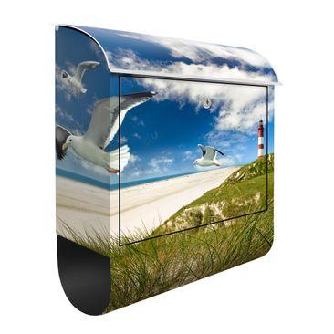 Produktfoto Briefkasten mit Zeitungsfach - Dune Breeze - Hausbriefkasten