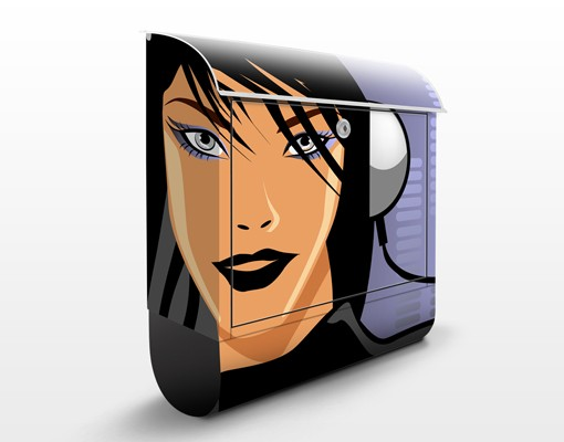 Produktfoto Design Briefkasten DJane Spicy 39x46x13cm