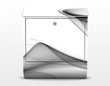 Product picture Design Letter Box Grey Flame 39x46x13cm