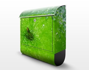 Product picture Design Letter Box Green Apple 39x46x13cm