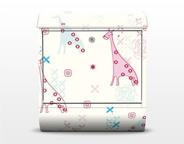 Product picture Design Letter Box Dreaming Giraffe...
