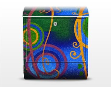 Product picture Design Letter Box Expression 39x46x13cm