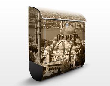 Produktfoto Briefkasten mit Zeitungsfach - Old Mosque - Wandbriefkasten