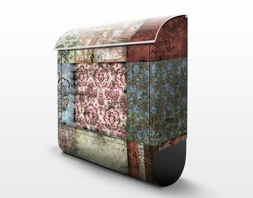 Product picture Design Letter Box Old Patterns...