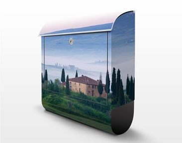Product picture Design Letter Box Sunrise In Tuscany...