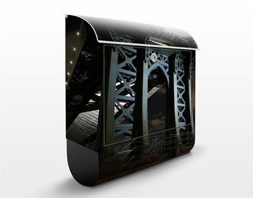 Immagine del prodotto Cassetta postale Manhattan Bridge At Night 39x46x13cm