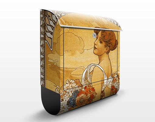Briefkasten Art Deco - Miss Summer -...