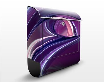 Product picture Design Letter Box Circles In Purple...