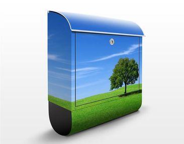 Produktfoto Briefkasten mit Zeitungsfach - Relaxation - Hausbriefkasten