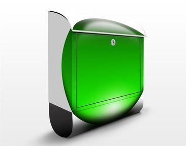Produktfoto Wandbriefkasten - Magical Green Ball - Briefkasten Grün