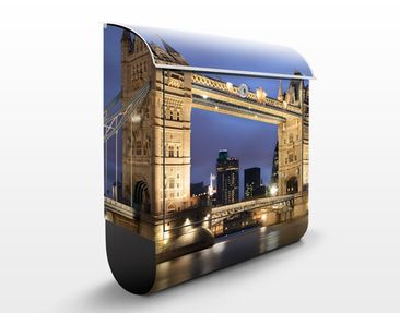 Product picture Design Letter Box Tower Bridge At Night...