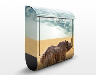 Produktfoto Design Letter Box Rhino from Savanna...